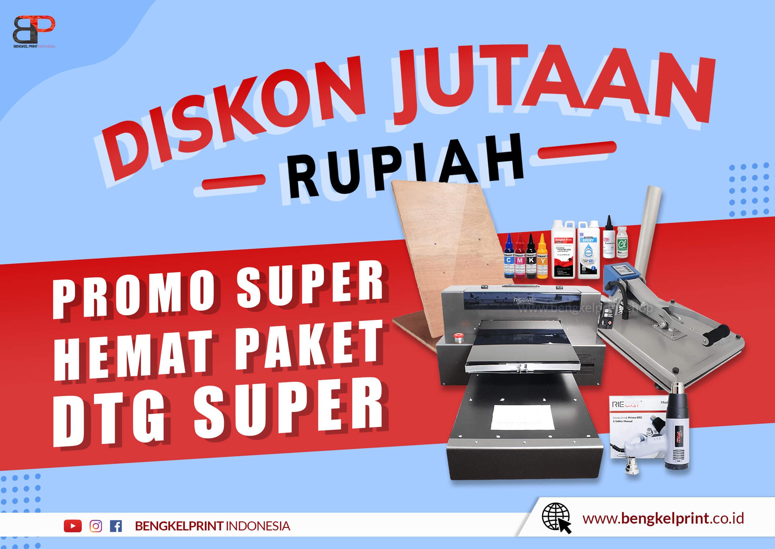 paket dtg a3 super murah 2021
