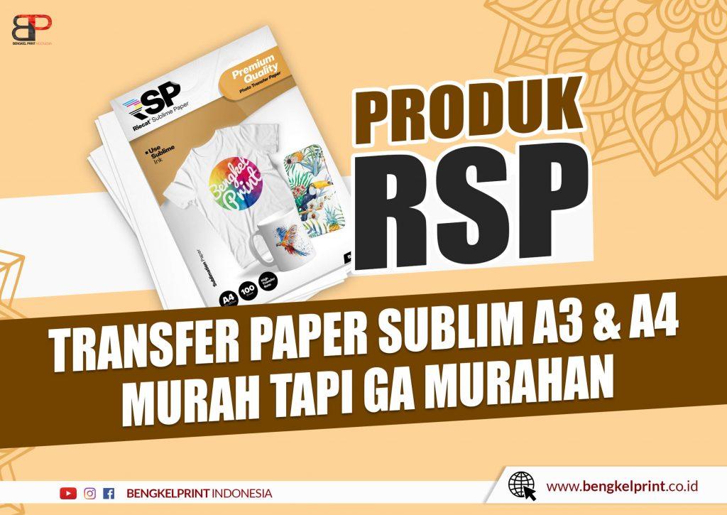 kertas sublimasi ukuran a3 a4 murah