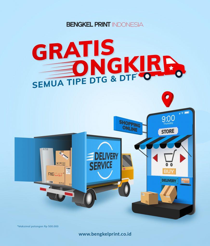 paket usaha printer dtf dtg bebas ongkir 2021