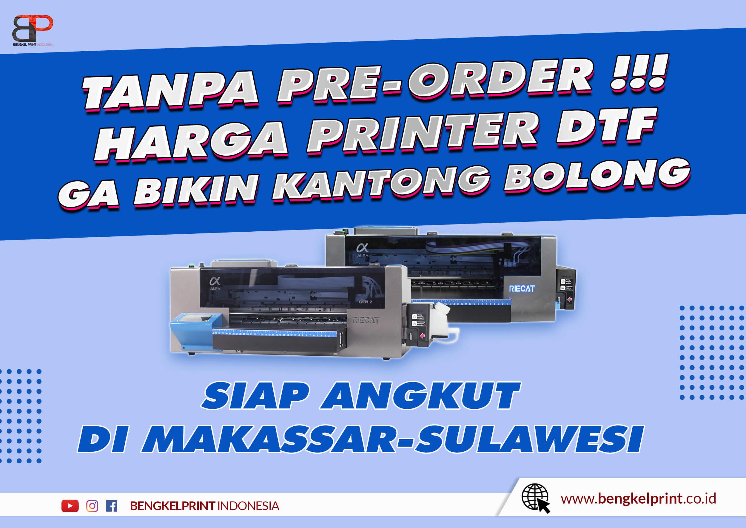 Jual Printer DTF A3 Murah