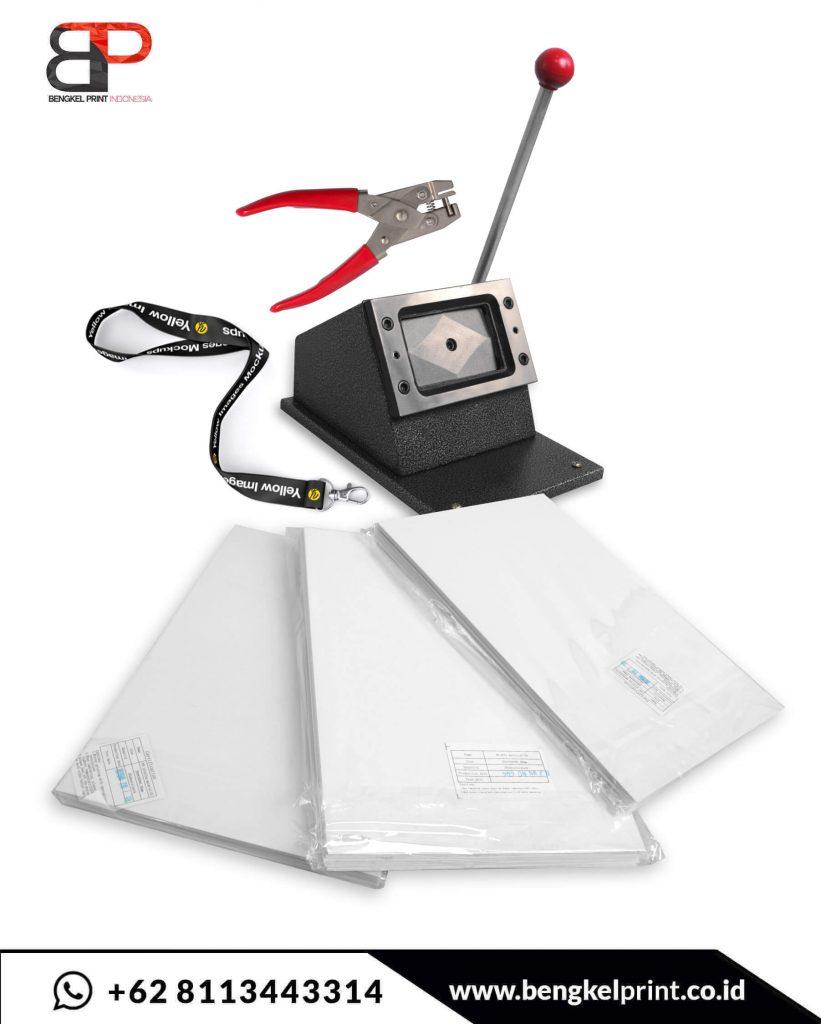 jual alat dan bahan cetak id card murah