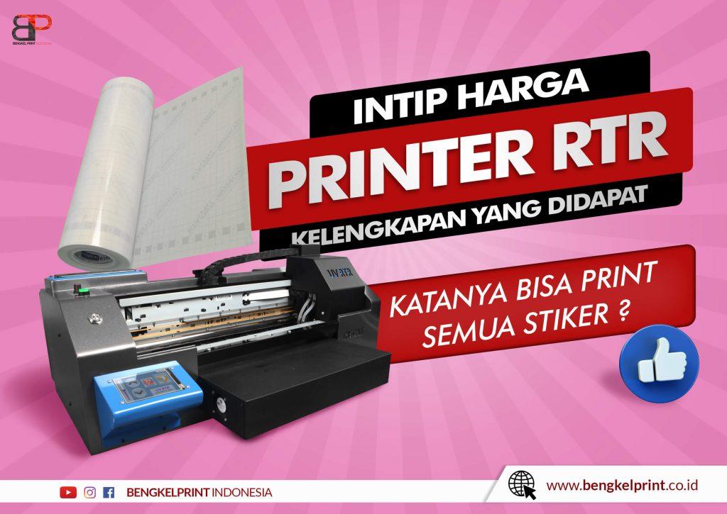 Harga Paket Usaha Printer UV RTR