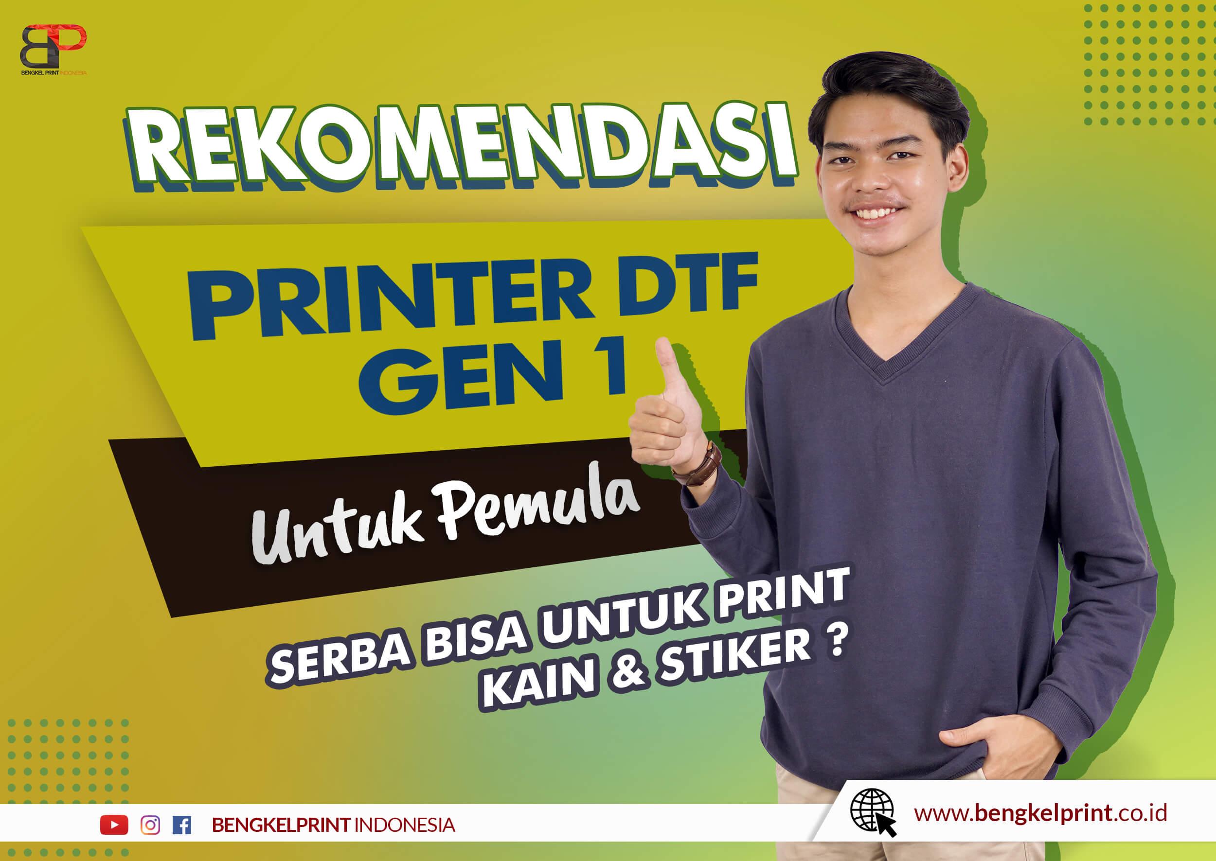 Mesin Printer Riecat Alfa Generasi 1