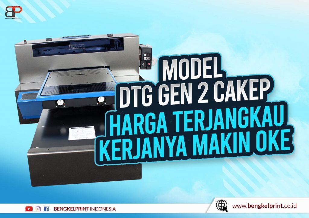 Jual Printer DTG GEN 2 Plus Vacum Portable